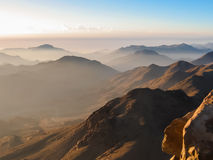 Mount Sinai summit Stock Image