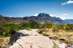 Mount Slioch Royalty Free Stock Photo