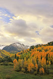 Mount Sneffels Range, Colorado. USA royalty free stock photography