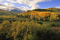 Mount Sneffels Range, Colorado Stock Image