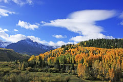 Mount Sneffels Range, Colorado Royalty Free Stock Photo
