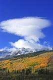Mount Sneffels Range, Colorado. USA royalty free stock image