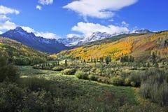 Mount Sneffels Range, Colorado. USA royalty free stock photo