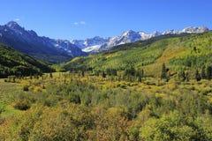 Mount Sneffels Range, Colorado Royalty Free Stock Image