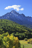 Mount Sneffels Range, Colorado. USA stock images