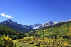 Mount Sneffels Range, Colorado royalty free stock photography