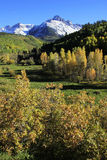 Mount Sneffels, Uncompahgre National Forest, Colorado Stock Images
