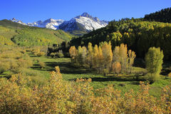 Mount Sneffels, Uncompahgre National Forest, Colorado. USA royalty free stock photos