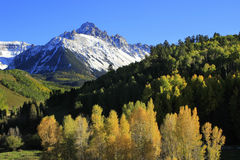 Mount Sneffels, Uncompahgre National Forest, Colorado. USA stock photo