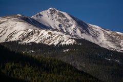 Mount Sniktau - Colorado. Mount Sniktau in early winter, near Loveland Pass, Colorado royalty free stock images