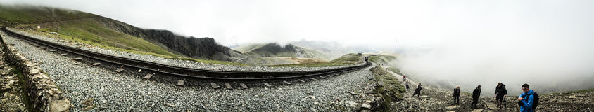 Mount Snowdon Stock Photo