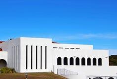 Mount Soledad Presbyterian Church. The building structure of the Mt Soledad Presbyterian Church under blue sky at La Jolla, California Royalty Free Stock Image