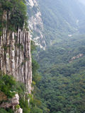 Mount Songshan fault view Royalty Free Stock Photography