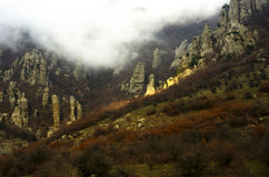 Mount Southern Demerdji in Crimea Royalty Free Stock Image