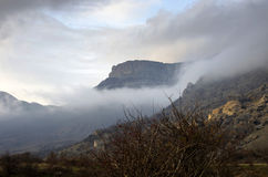 Mount Southern Demerdji in Crimea Stock Images
