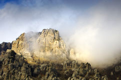 Mount Southern Demerdji in Crimea Stock Image