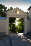 Mount St. Anna in Poland, the gate to the monastery and the Basi Royalty Free Stock Photos