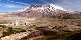 Mount St. Helens active volcano royalty free stock image