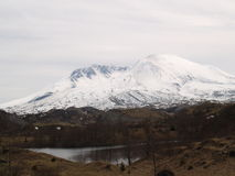 Mount St. Helens Black Stock Photography