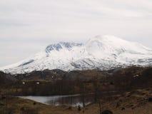 Mount St. Helens Black stock photography