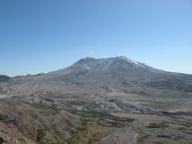 Mount st. helens on clear day Royalty Free Stock Image
