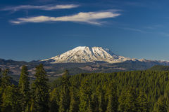 Mount St. Helens on a clear day Stock Photos
