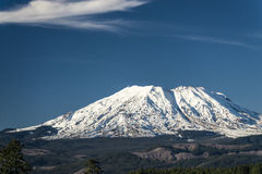 Mount St. Helens on a clear day Stock Image