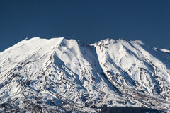 Mount St. Helens on a clear day Royalty Free Stock Photography