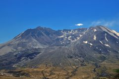 Mount St Helens Crater Royalty Free Stock Photography