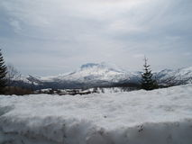 Mount St. Helens royalty free stock photography