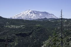 Mount St. Helens in Washington State stock images