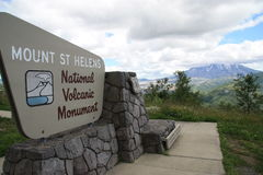 Mount St Helens National Volcanic Monument Stock Photos