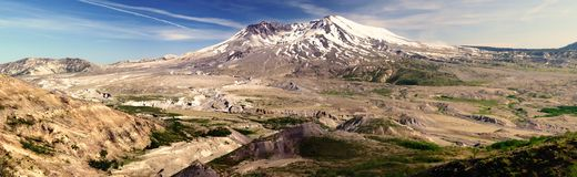 Mount St. Helens volcano Royalty Free Stock Image