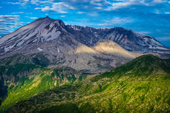 Mount St. Helens volcano and the blast zone landscape Royalty Free Stock Photography