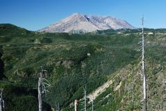 Mount St. Helens, Washington, USA Stock Image