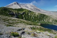 Mount St. Helens, Washington, USA Stock Photo