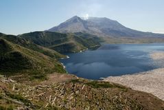 Mount St. Helens, Washington, USA Stock Photo