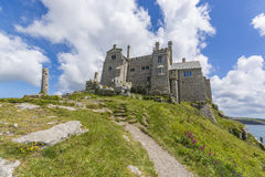 Mount st michael island fortress Royalty Free Stock Photography