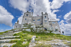 Mount st michael island fortress Royalty Free Stock Image
