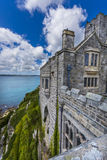 Mount st michael island fortress Royalty Free Stock Photos