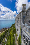 Mount st michael island fortress Stock Photos