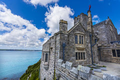 Mount st michael island fortress Stock Photography