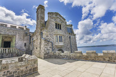 Mount st michael island fortress Stock Image