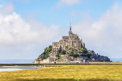 Mount St Michel in Normandy Stock Photo