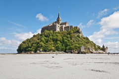 Mount St Michel in Normandy Stock Photography