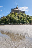 Mount St Michel in Normandy Royalty Free Stock Image