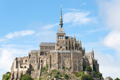 Mount St Michel in Normandy Royalty Free Stock Images