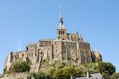Mount St Michel in Normandy Stock Images