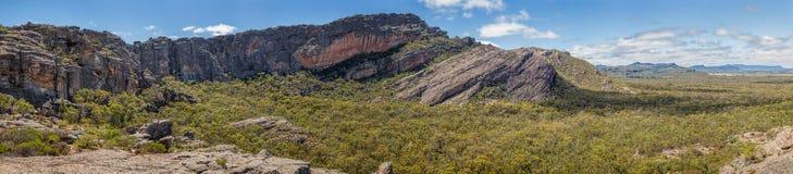 Mount Stapylton in the Grampians national park, Victoria, Australia royalty free stock image