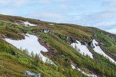 Mount Storsteinen in Norway. Stock Image